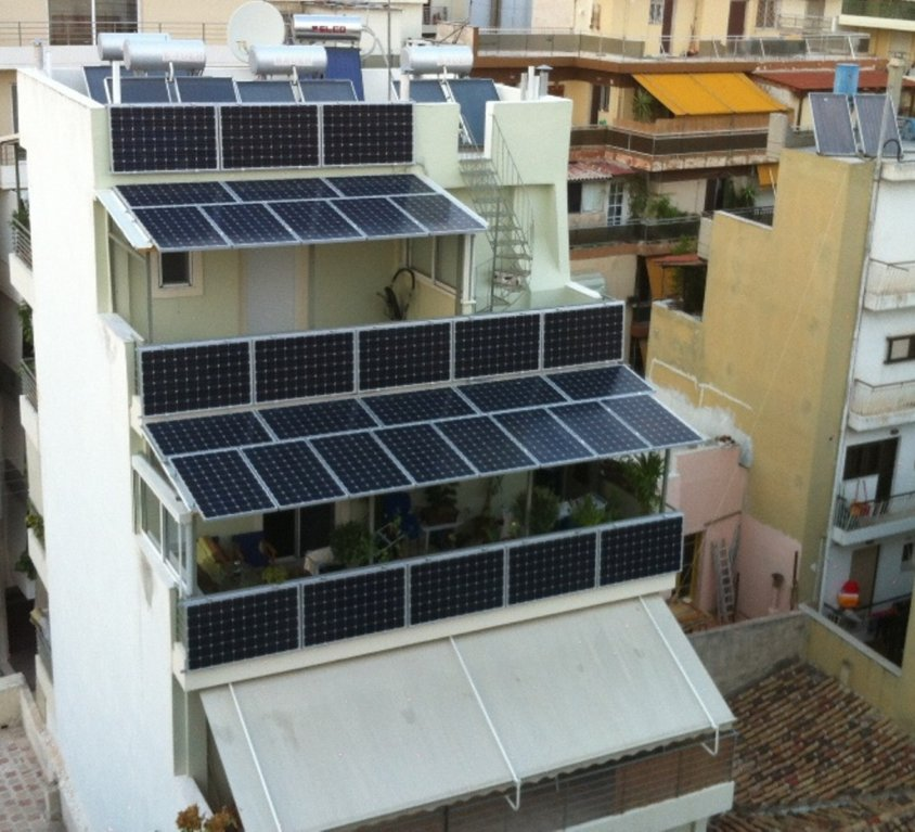 Φωτοβολταΐκό Οικιακό Στέγαστρο – Όψη στην Αθήνα